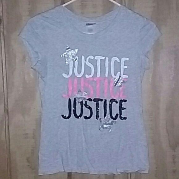 Kids Justice tee Lightly used Justice Tops Tees - Short Sleeve