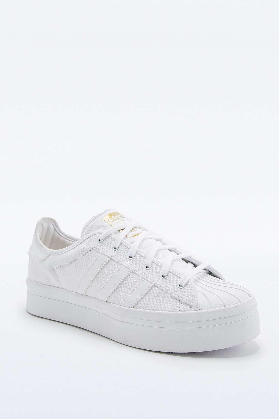adidas Originals Superstar Rize White Sneakers