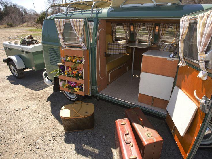 1967 volkswagen type 2 westfalia deluxe camper van classic for Interior westfalia