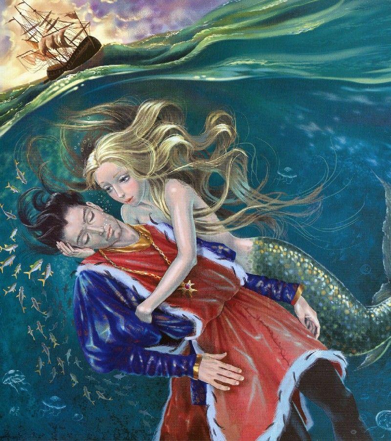 Картинке по сказке русалочка