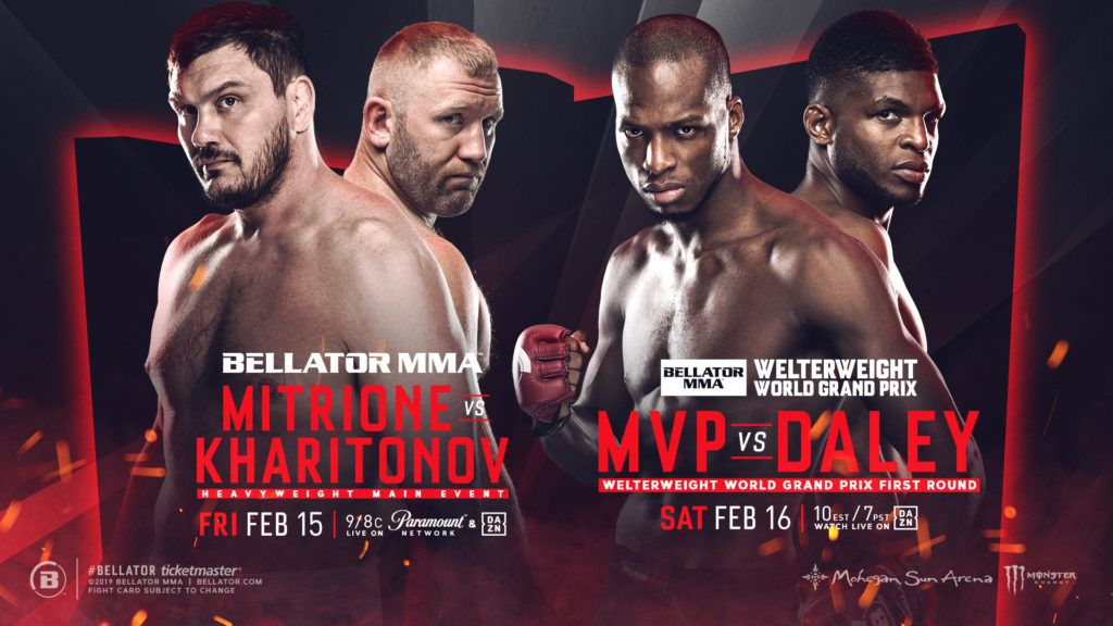 Mvp Vs Paul Daley In Welterweight World Grand Prix Grudge Match