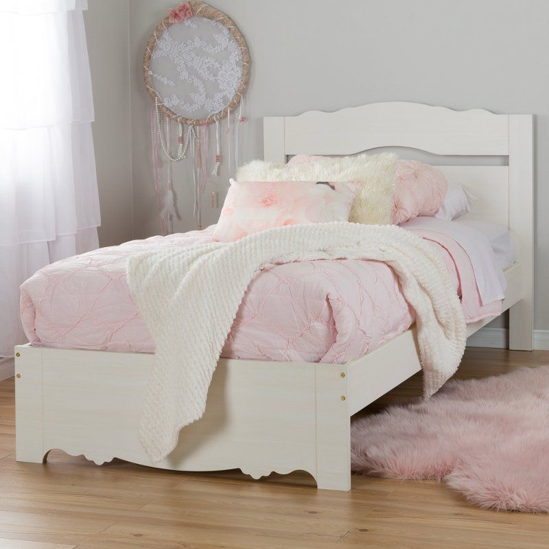 White Wash Twin Bed Set 39 Inch Lily Rose Kid Beds Kids