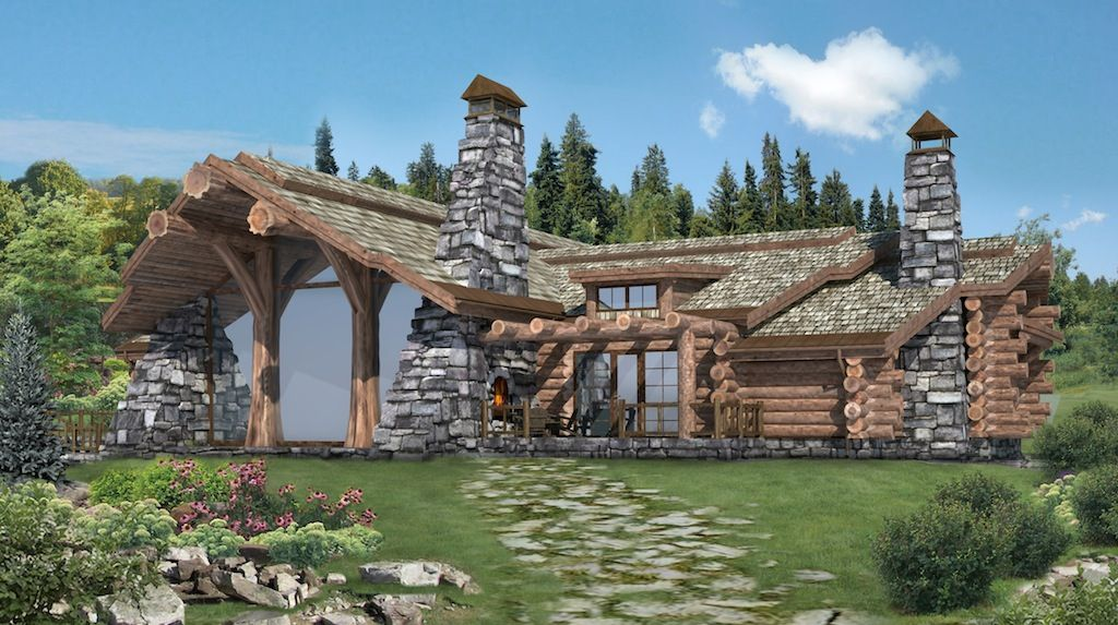Canadian Log Home Plans Handcrafted Log Homes Cabins Canadian Log Homes Chalet Log Home Plans Log Homes Cabin House Plans
