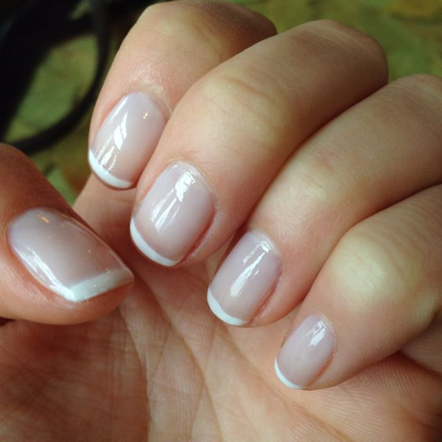 Signature French Manicure by Elaine at MiniLuxe! | Manicures | Pinterest