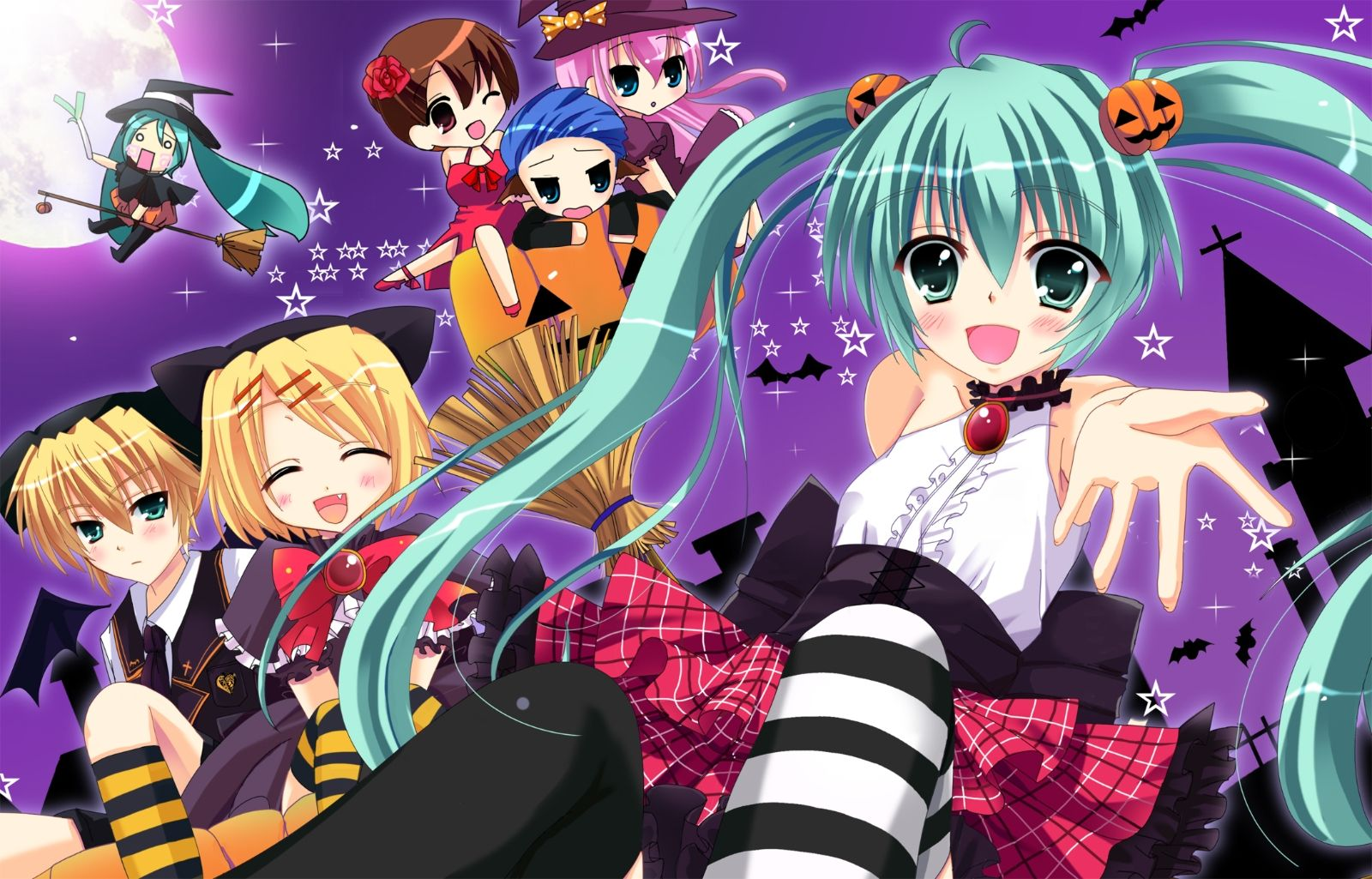 Miku Chibi Wallpaper 1920×1080 Anime Chibi Wallpapers (46 ...
