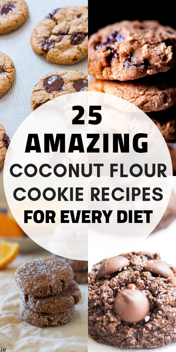 25 Coconut Flour Cookie Recipes Gluten Free Coconut Flour Recipes Coconut Flour Cookies Coconut Flour Recipes Cookies