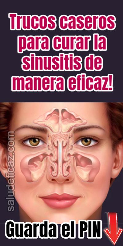 remedio casero mas efectivo para la sinusitis