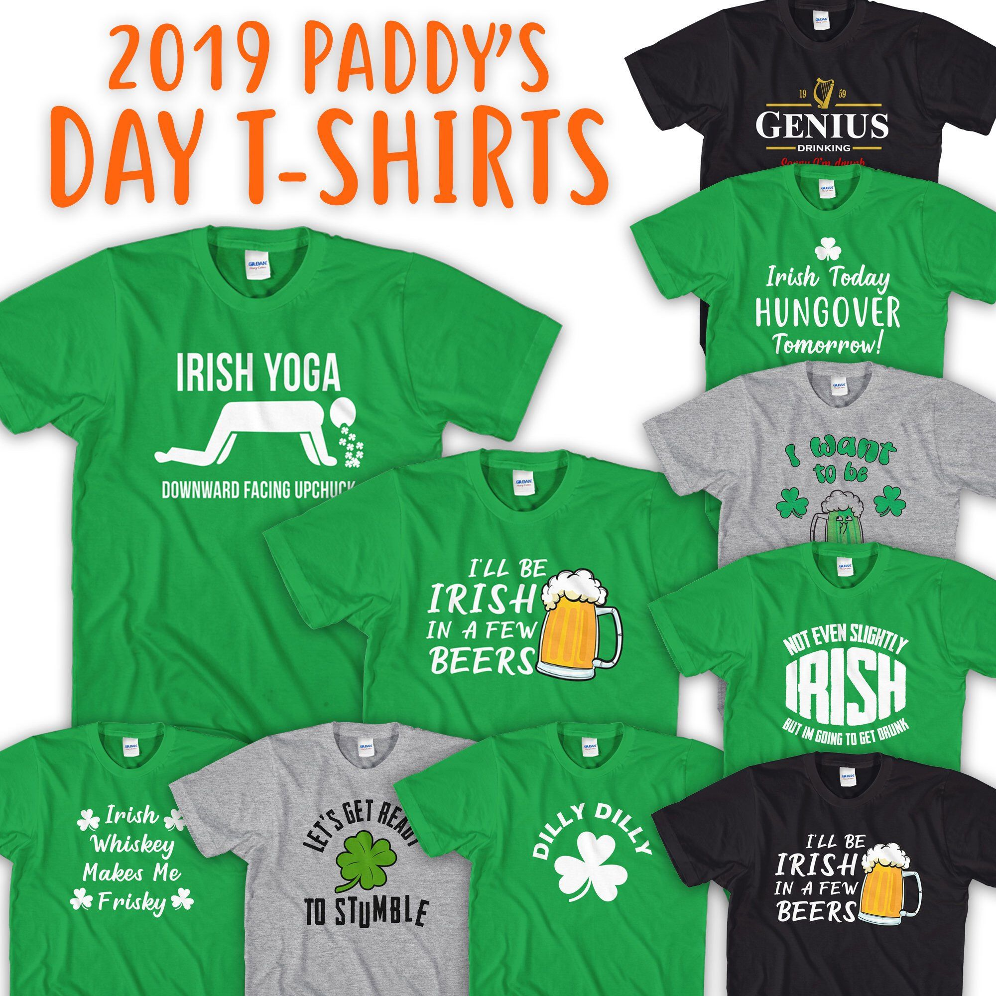 WHO/'S YOUR PADDY? Fun St Patrick/'s Day Novelty Themed Baby Grow Irish