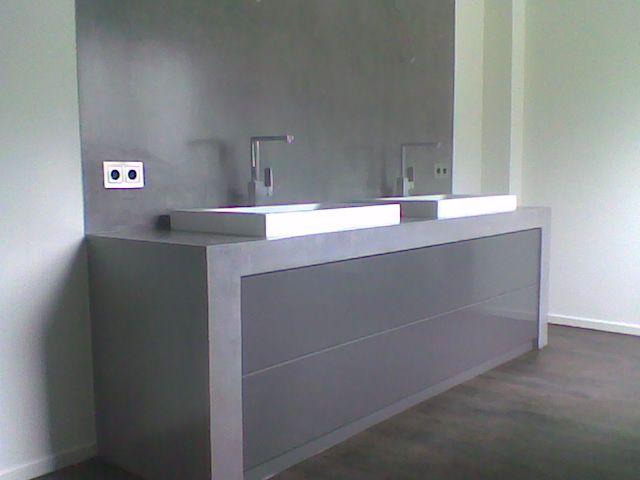 Waschtischplatte beton  beton waschtisch | Bad | Pinterest | Waschtisch und Häuschen