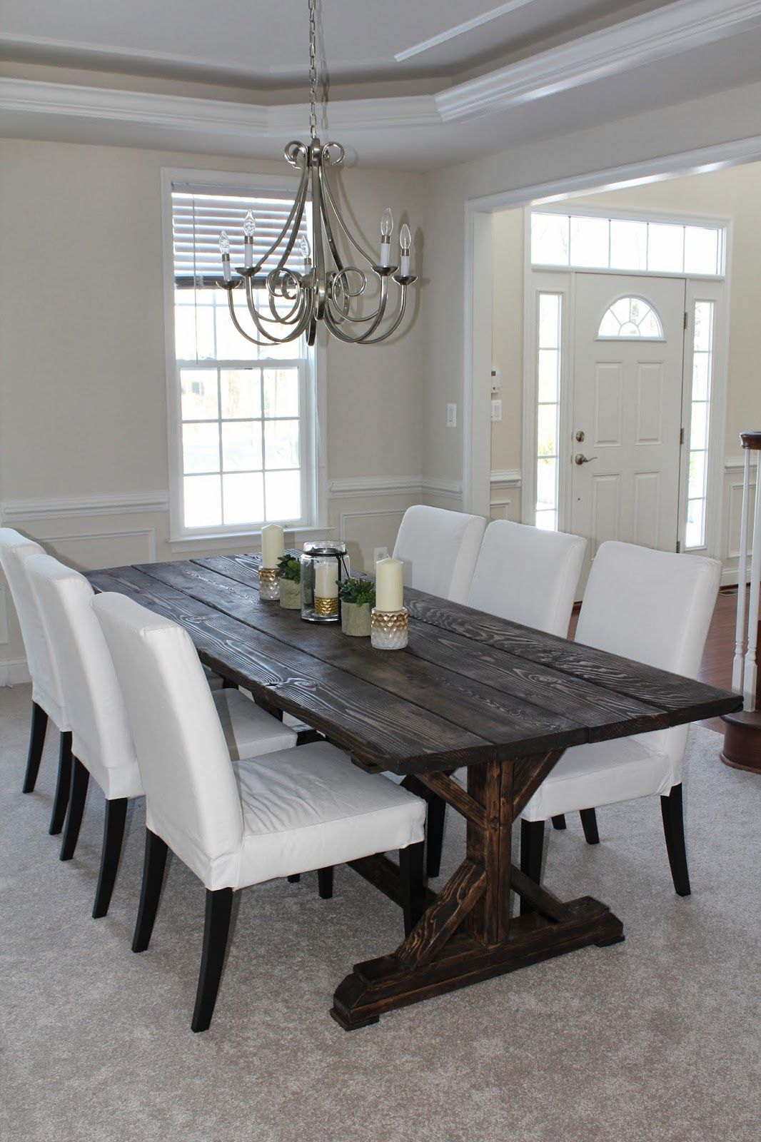 Could be a simple diy farm house table project for the