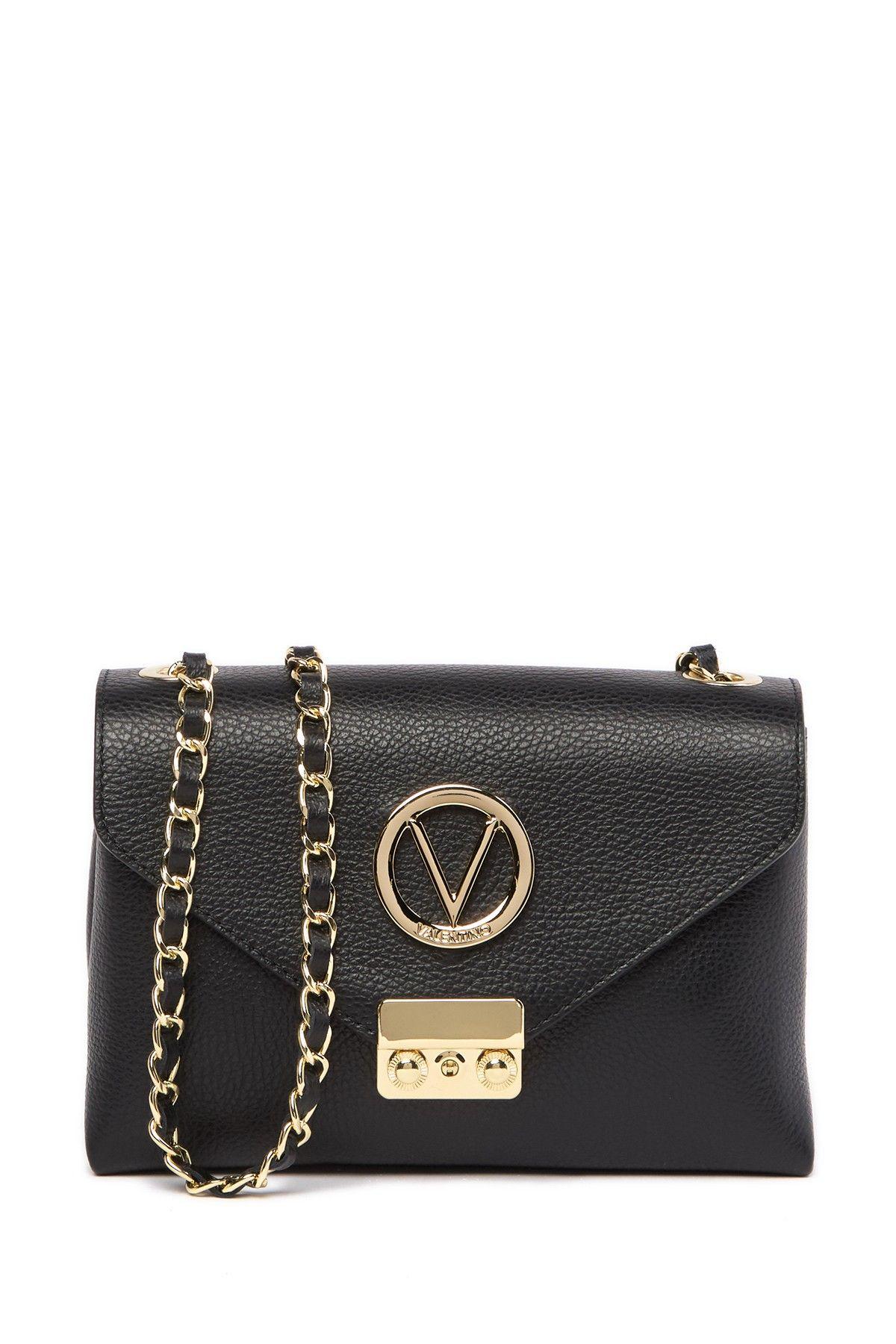 Valentino By Mario Valentino Isabelle Leather Crossbody Bag Crossbody Bag Valentino Crossbody Leather Crossbody