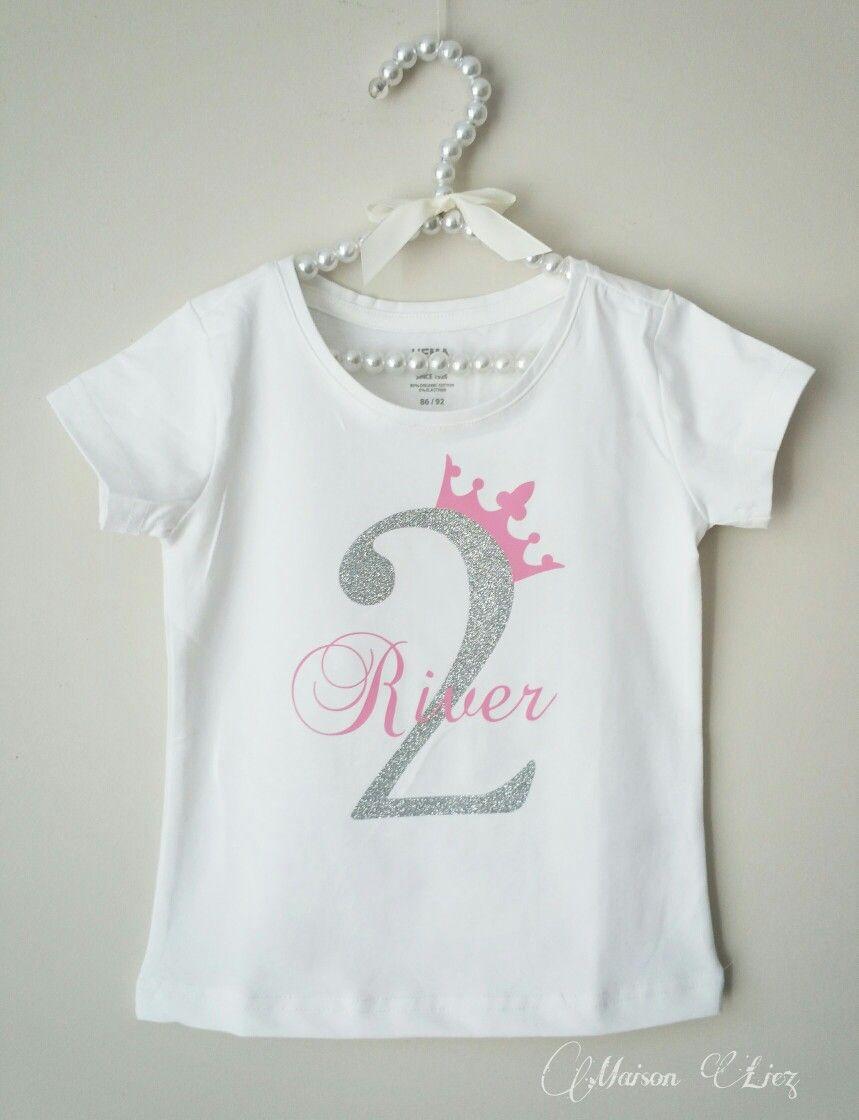 Naam met getal shirt