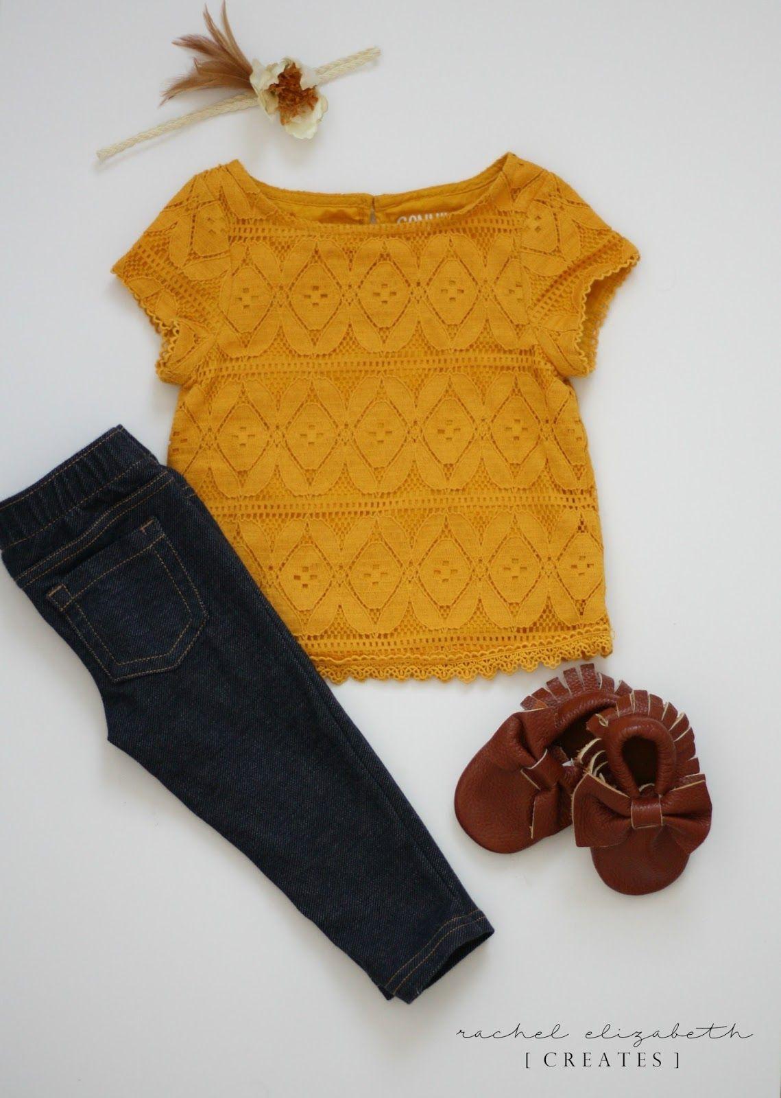 Fall Toddler Wardrobe  Rachel Elizabeth Creates  Toddler girl