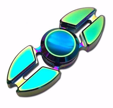 Futuristic Aluminum Fidget Spinner | Fidget Spinners