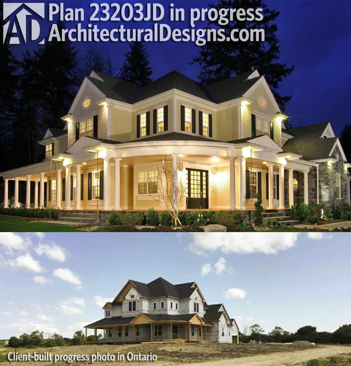 Plan 23203jd A Bath For Every Bedroom Country House Plans My Dream Home Dream House