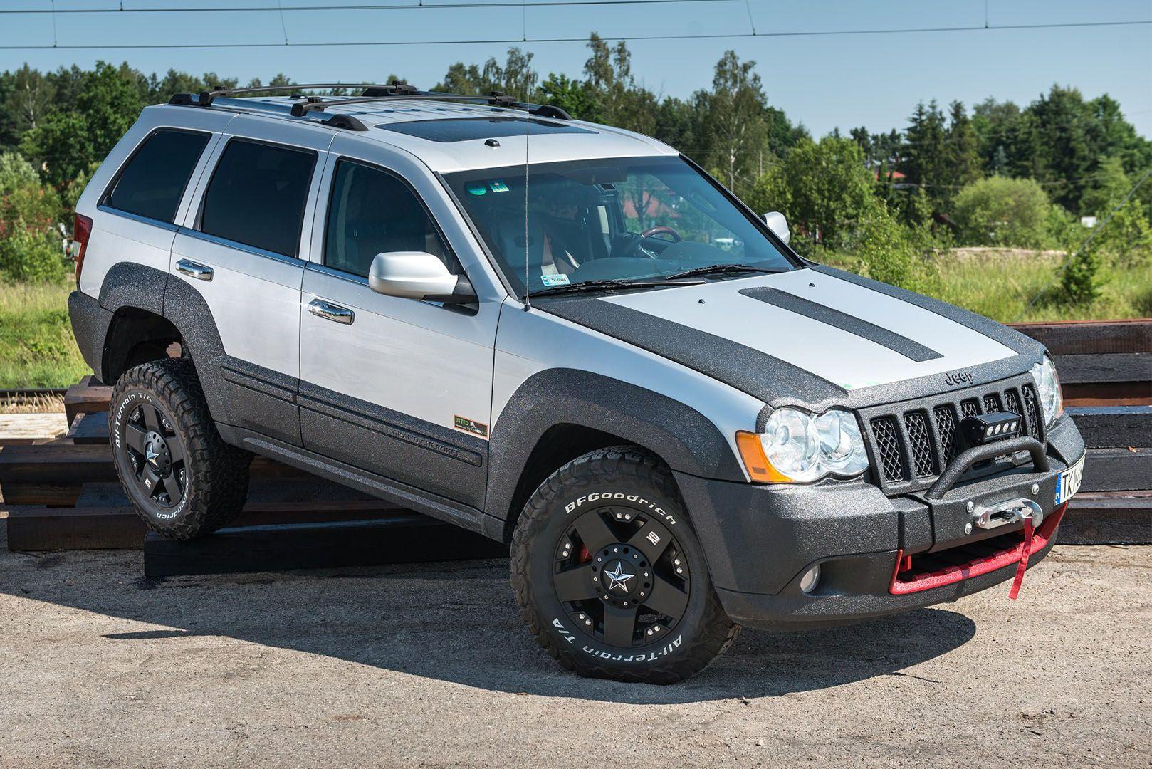Metalpasja Innowacyjne Doposazenia Offroad Jeep Grand Cherokee