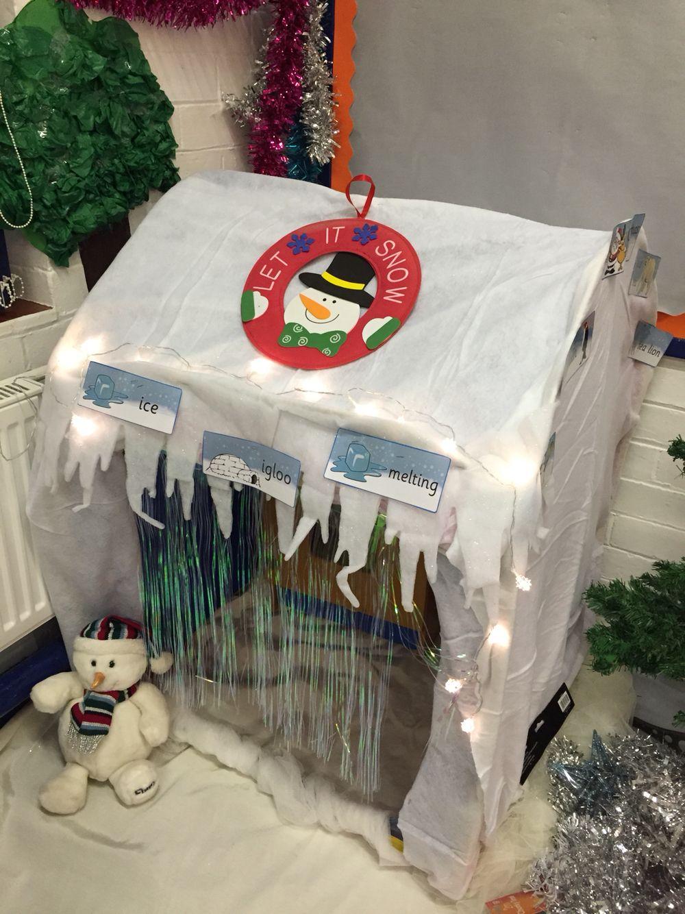 My Classroom Igloo For Winter Role Play Area Preschool