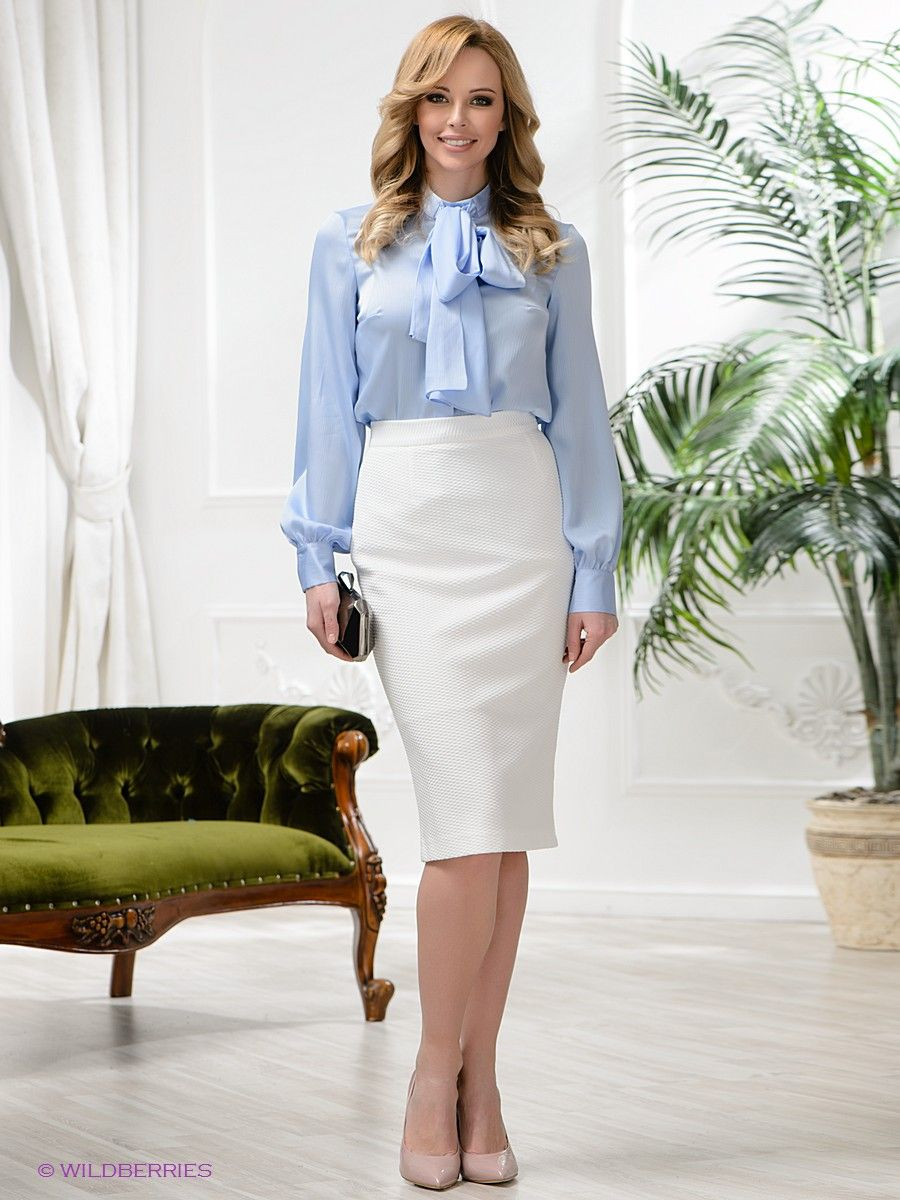 Classy bow blouse | Work Outfits | Pinterest