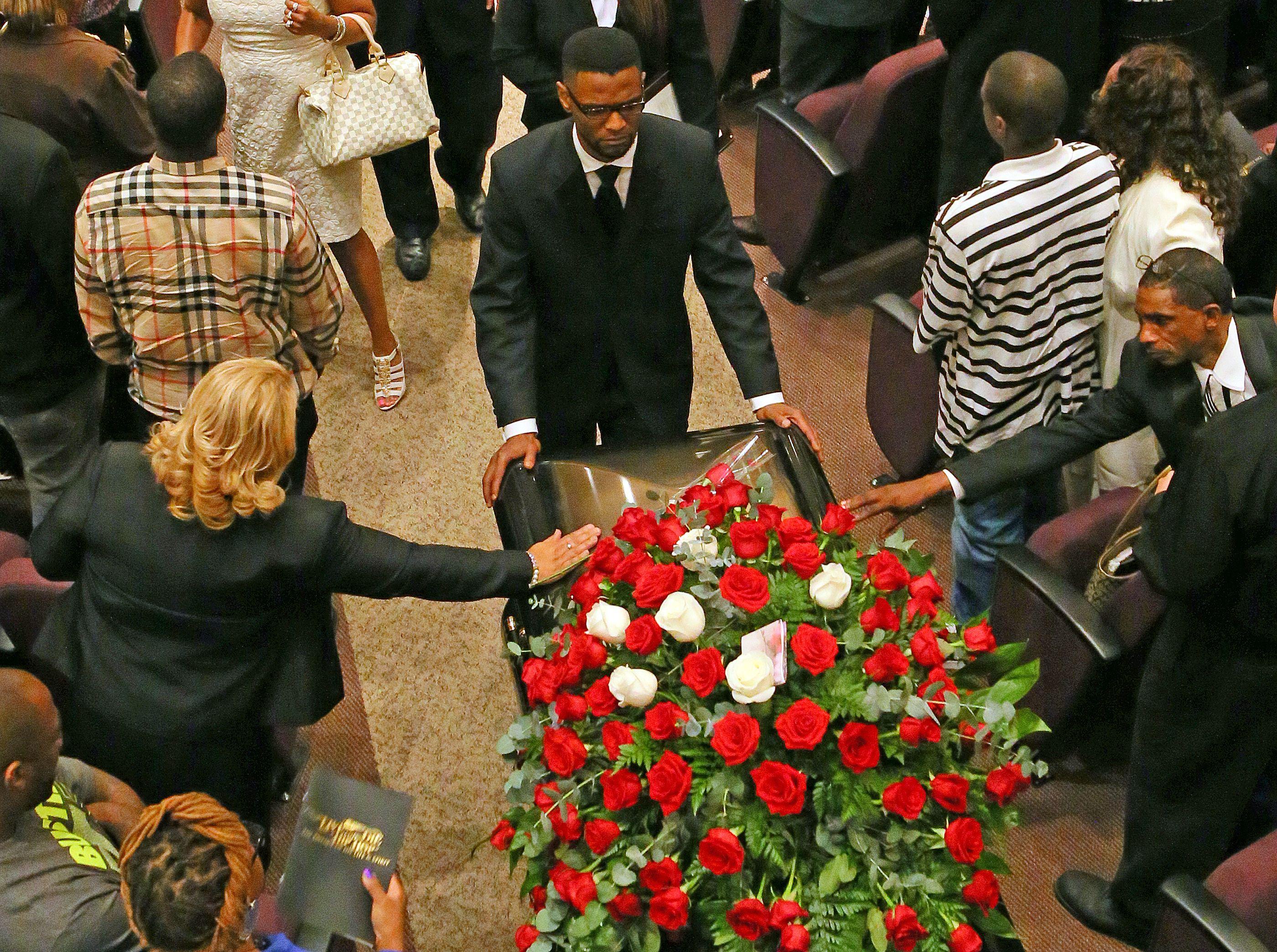 Christopher Kelly Funeral | Member of the Hip Hop group, Kris Kross | May 9, 2013 | Jackson Baptist Memorial Church, Atlanta, GA