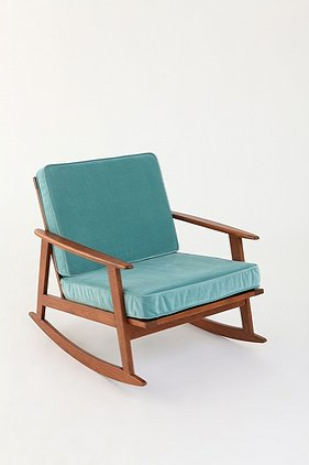 Clothed In Scarlet. Blue ChairsMidcentury ...