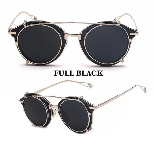 522d25fbf4a Dubranchet Vintage Steampunk - The Biker Steampunk Sunglasses
