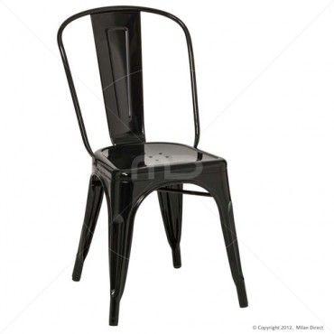 Vintage Metal Cafe Chair   Black   Buy Vintage Metal Cafe Replica U0026 Vintage  Metal Cafe