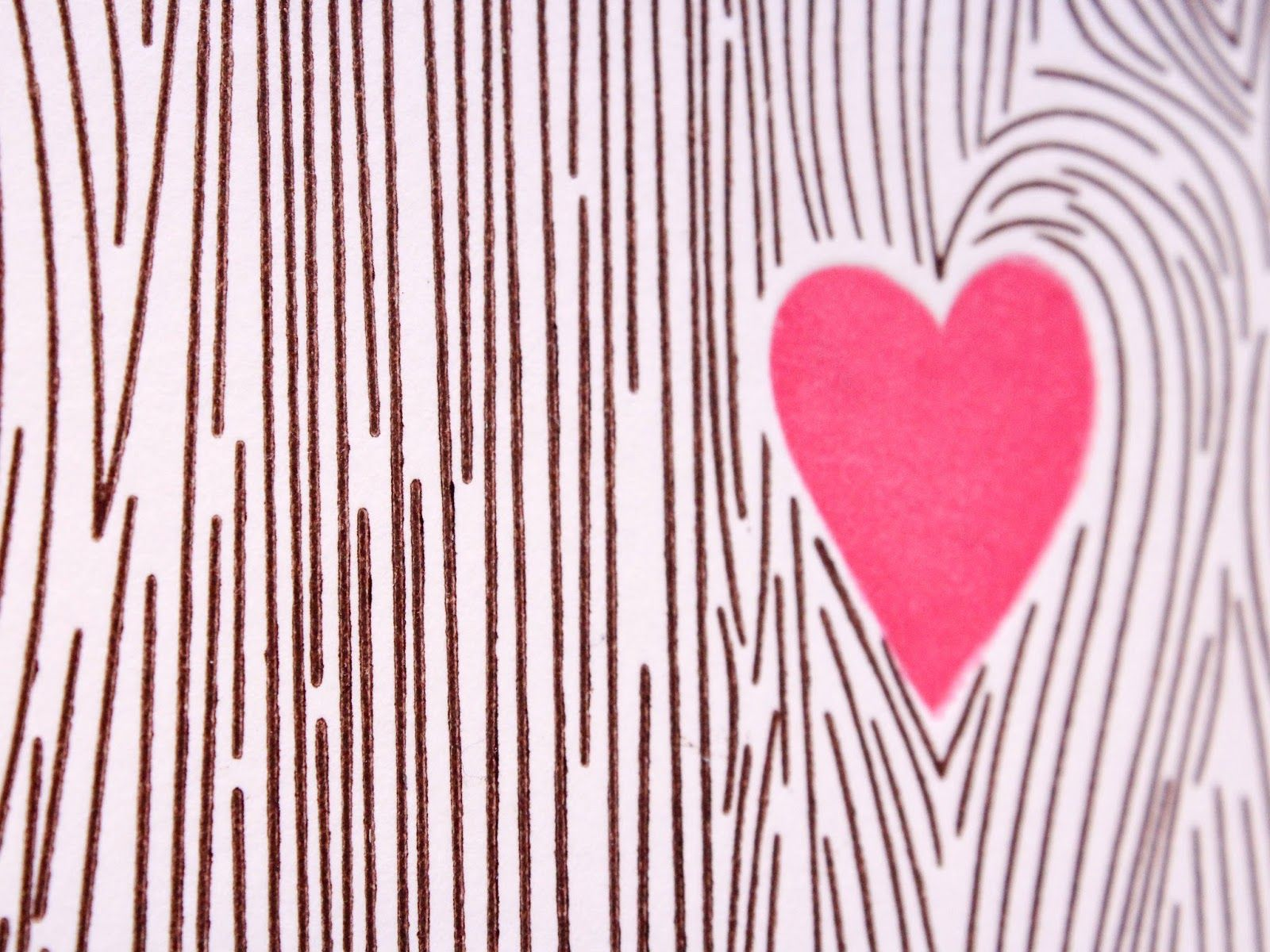 Sprinkled With Glitter: Woodgrain Background Valentines
