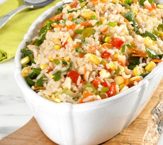 Thrifty Foods - Recipe - 6-Vegetable Rice Salad
