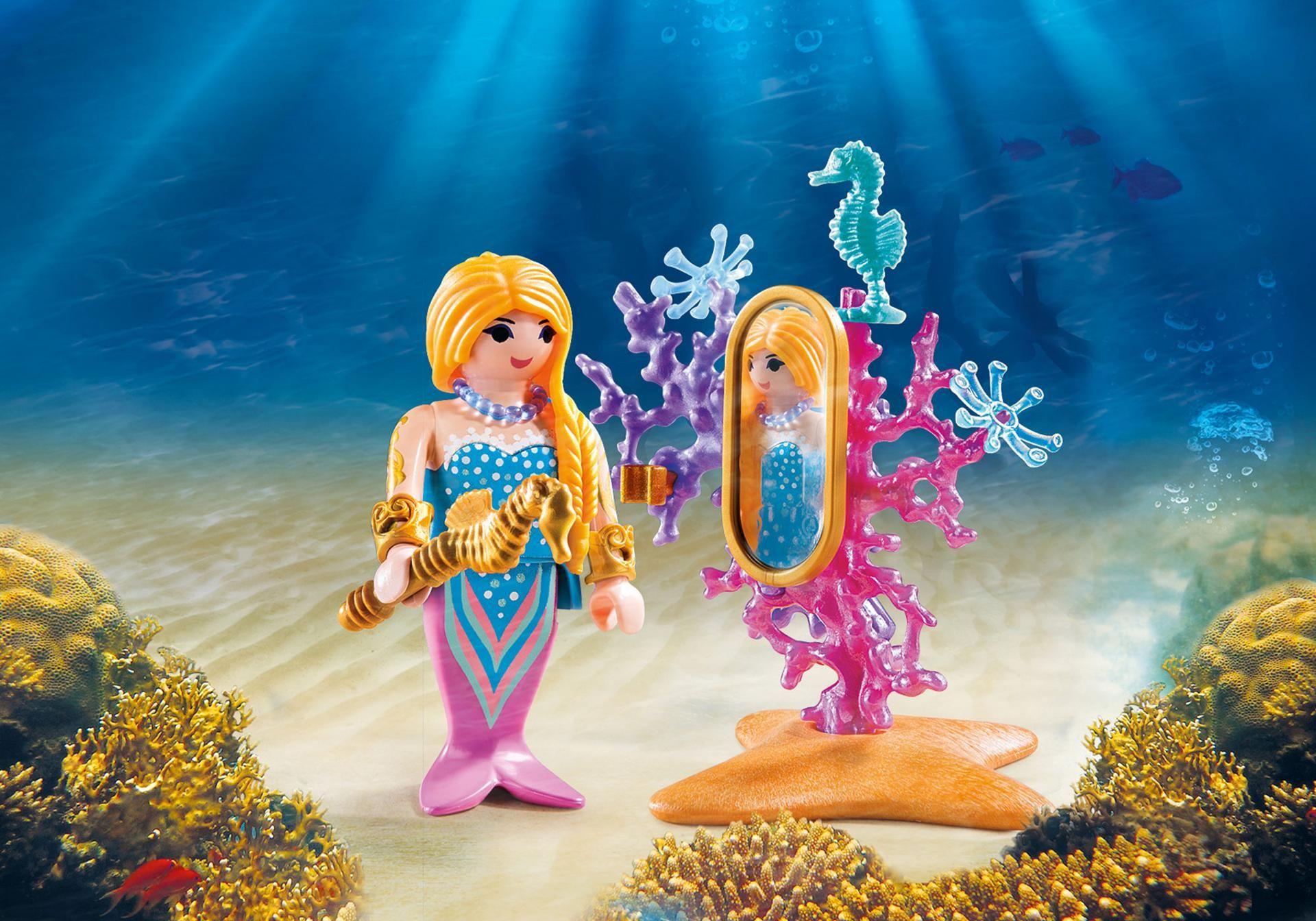 Http Media Playmobil Com I Playmobil 9355 Product Detail Mermaid Figures Playmobil Mermaid