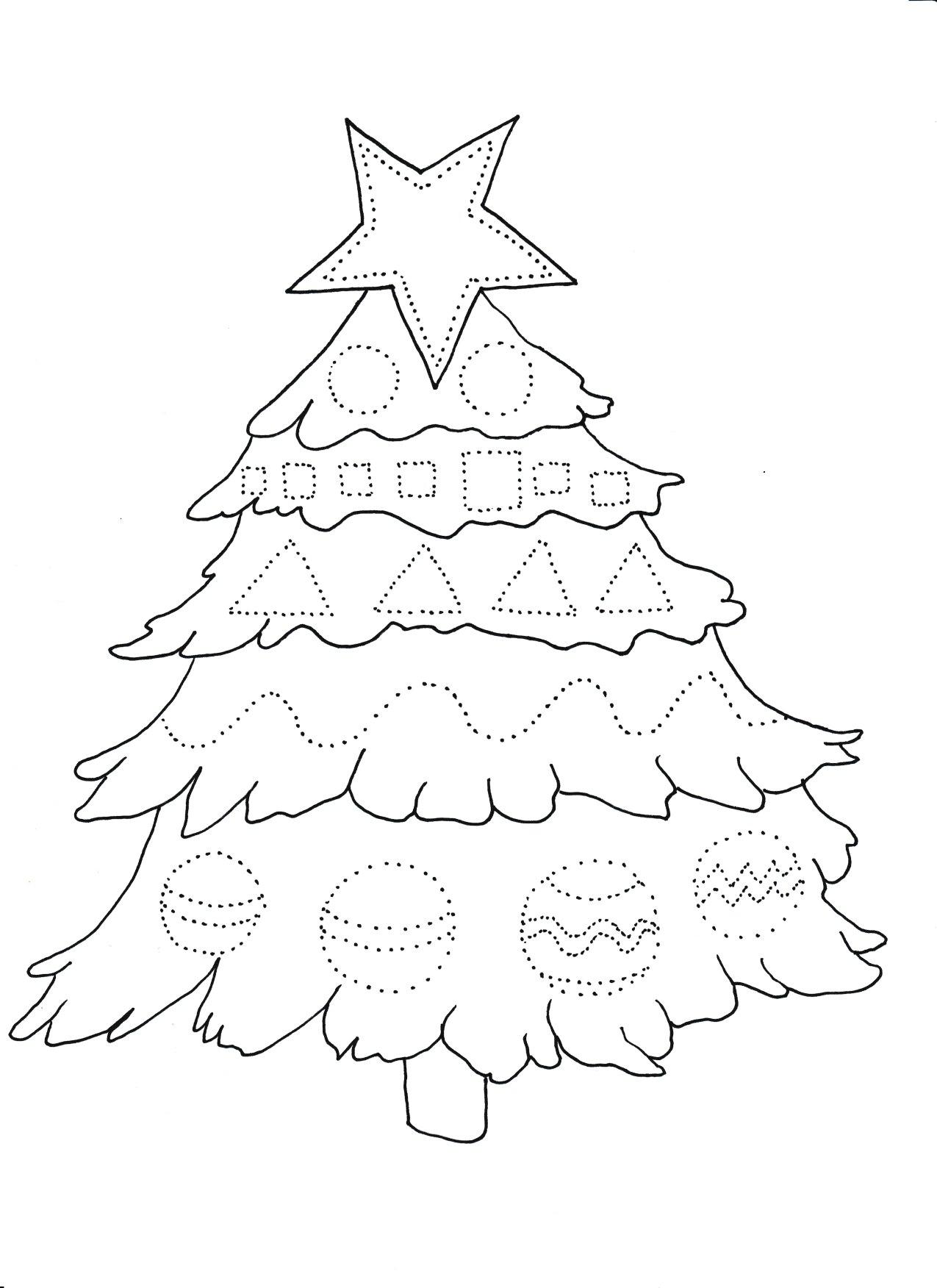 Choinka Grafomotoryka Moje Dzieci Kreatywnie Christmas Crafts For Gifts Christmas Worksheets Christmas Kindergarten