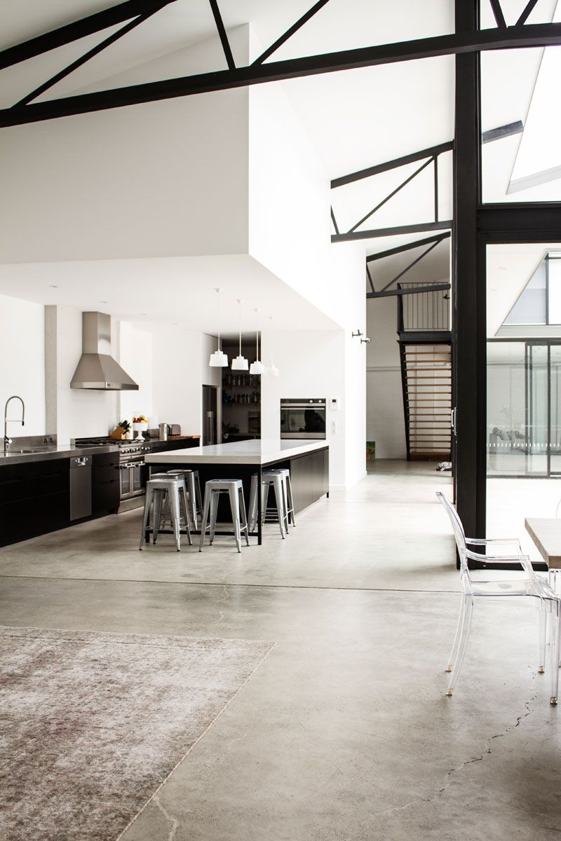 Music legend Mark Lizotte\'s warehouse conversion with a ...