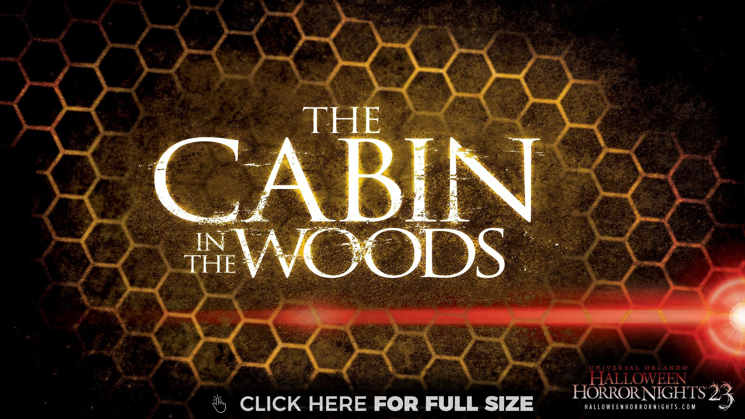 Cabin In The Woods Halloween Horror Nights Wallpaper Halloween Horror Nights 4k Wallpaper For Mobile Cabins In The Woods