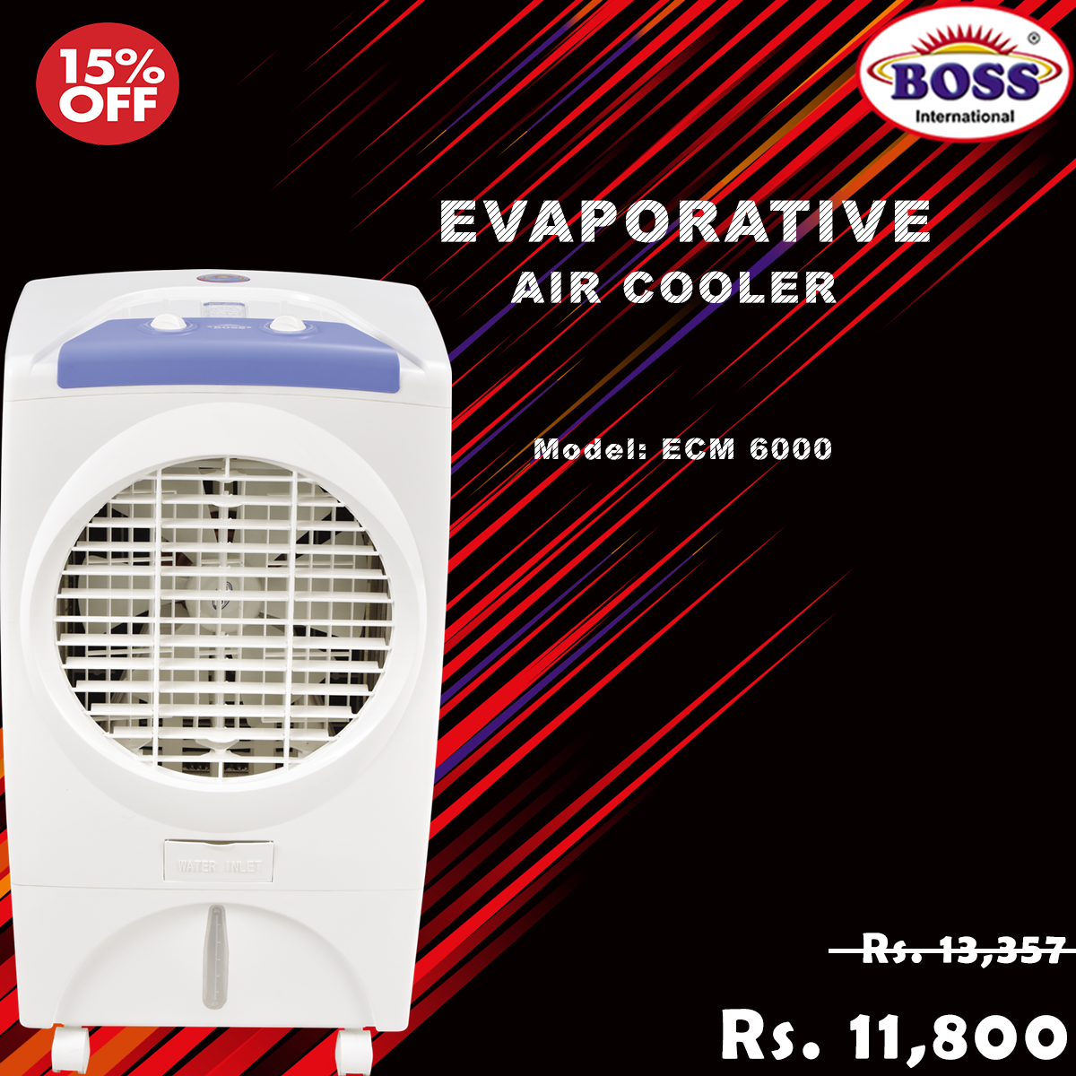 Air Cooler in Pakistan Best Quality Evaporative Air