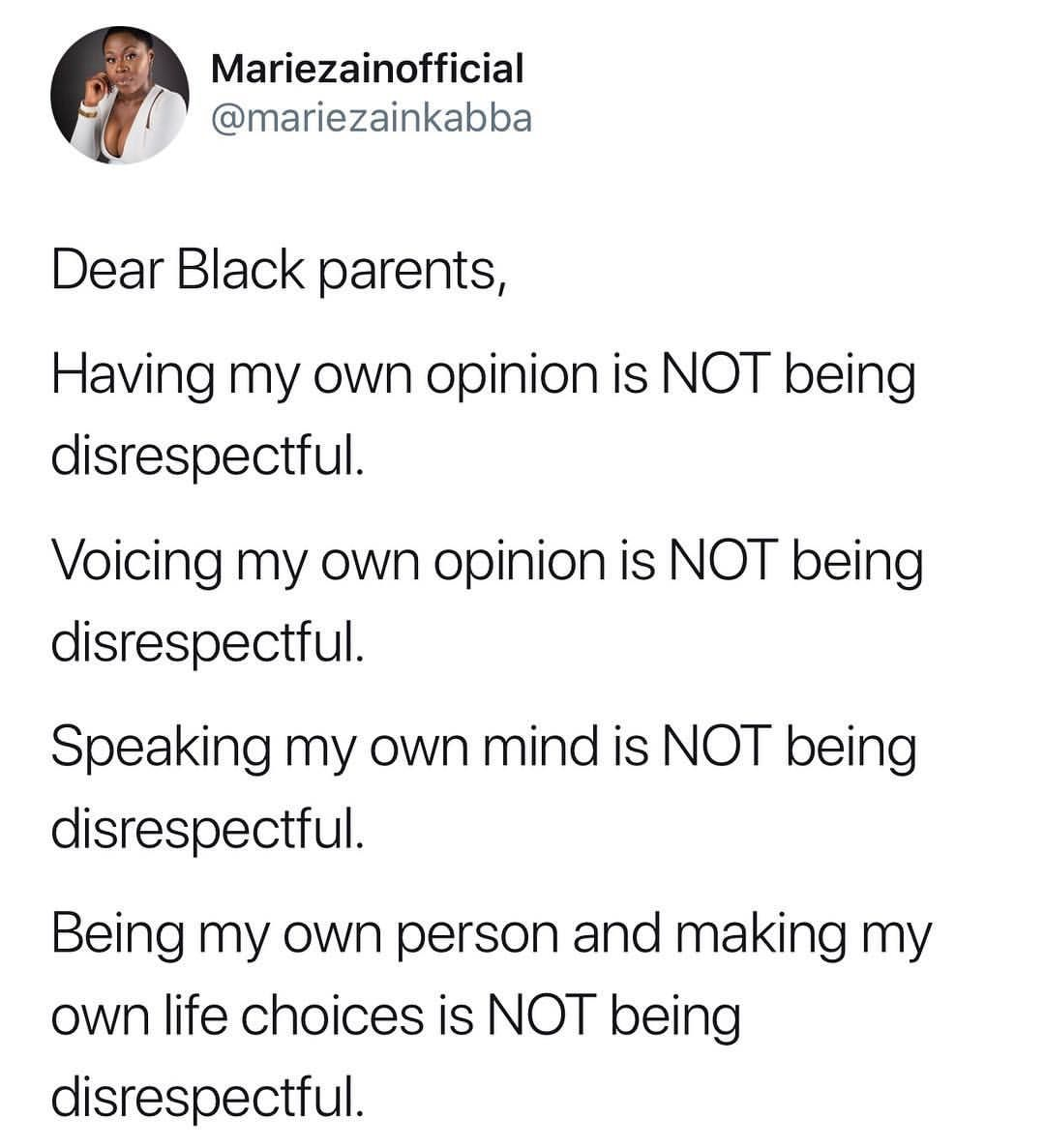 That Part Mariezainofficial My African Parents Are The Worst Anything You Do Or Say That S Contrary To Their Parenting Memes Beliefs Sayings
