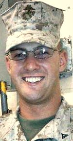 Marine Cpl Jeffrey R. Standfest, 23, of St. Clair, Michigan. Died June 16, 2010, serving during Operation Enduring Freedom. Assigned to 3rd Combat Engineer Battalion, 3rd Marine Division, III Marine Expeditionary Force, Marine Corps Air Ground Combat Center Twentynine Palms, California. Died of injuries sustained when an improvised explosive device detonated near his position during combat operations in Helmand Province, Afghanistan.