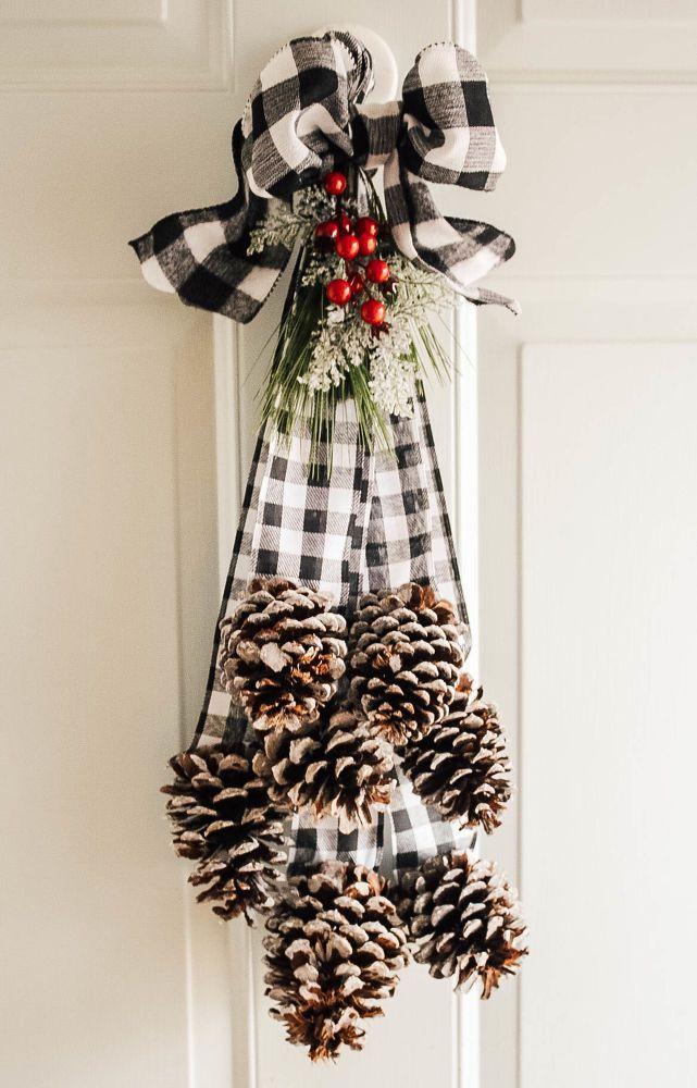 16 holiday Wreaths pine cones ideas
