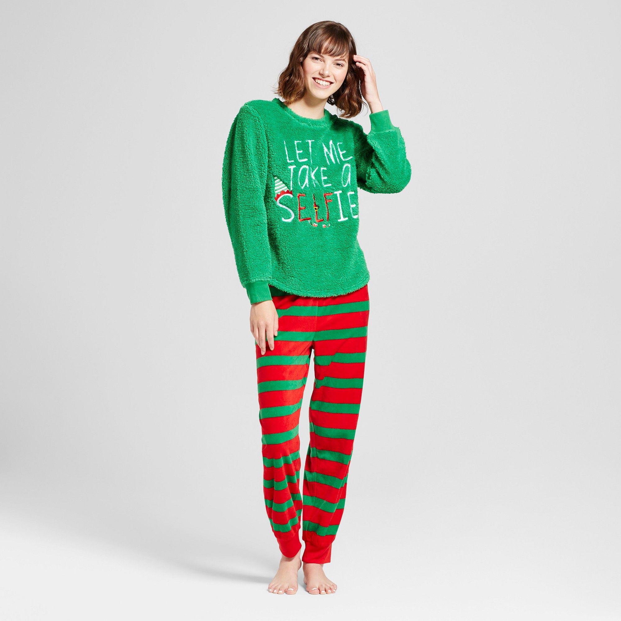 Women s Elf Pajama Set - Green XL  596656fb6