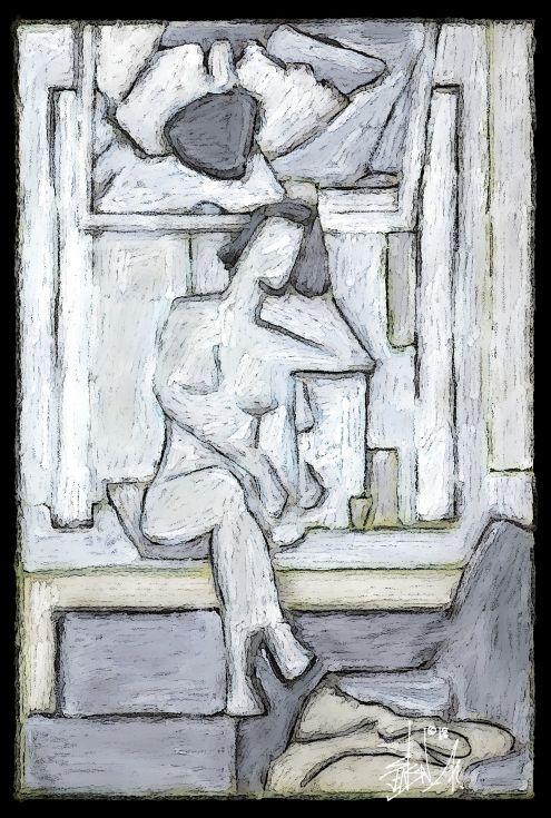 ARTFINDER: MIRROR by Susanne Jensen - DIGITAL ART