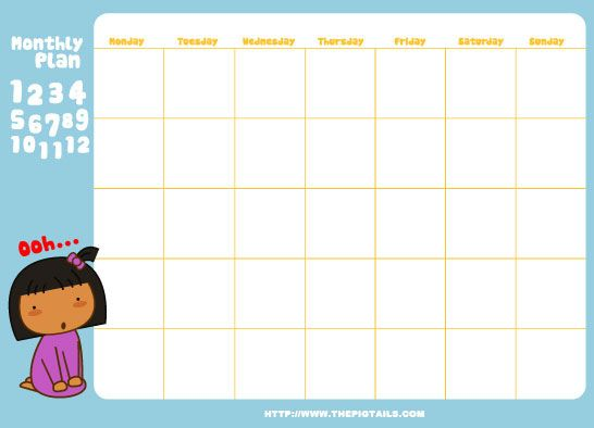 FREE printable week planner ♡♡♡ | Bordes y fondos | Pinterest ...