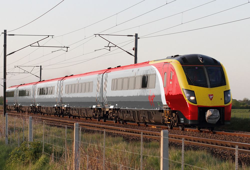 Virgin Trains Class 180 With Images Train British Rail