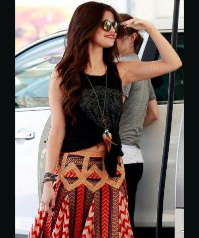 Selena Gómez sexy olvida a Justin Bieber con un look boho-chic (fotos) | Tendencias & Estilos | Wapa
