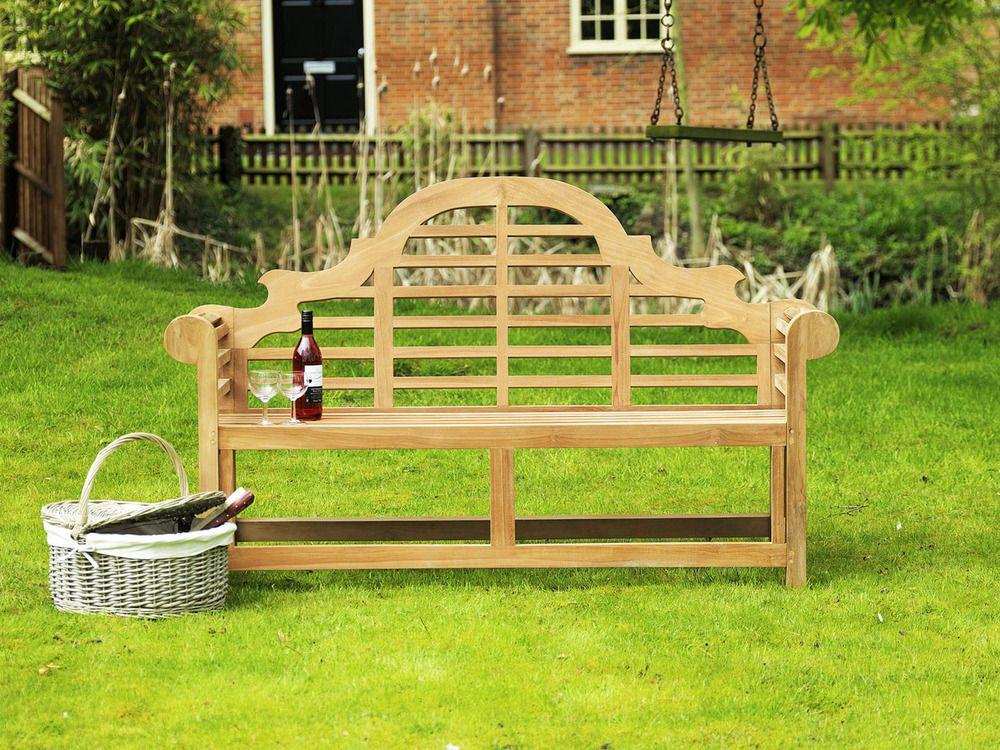Lutyens Teak Bench 150cm | Sissinghurst Teak Garden Bench 150cm