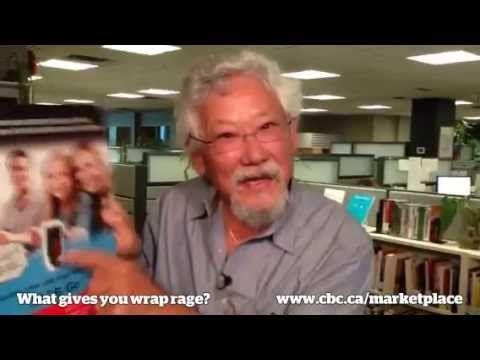 David Suzuki's got Wrap Rage - YouTube   Wrap Rage   Pinterest