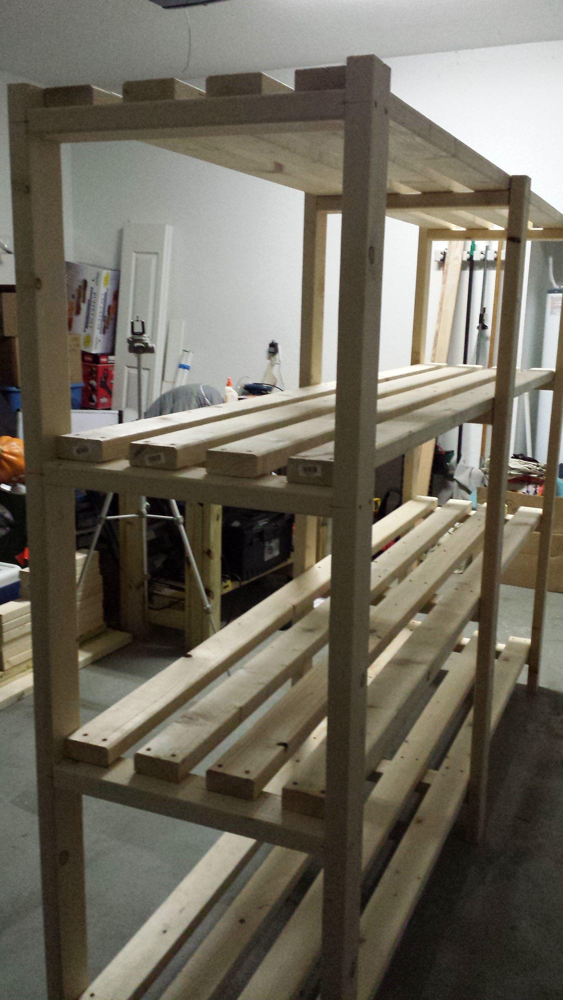 Download Original Garage shelf, Diy storage shelves