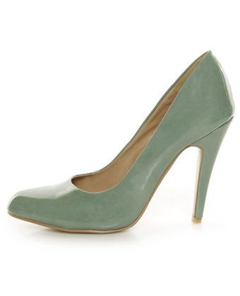 Amazing mint green pumps. Buying them  now!!