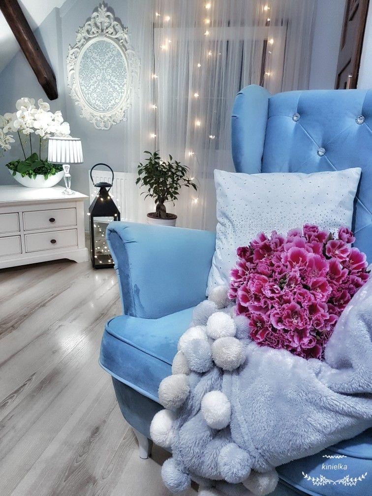 Blanket Flowers Armchair Bouquet Inspiracje Fotel Interior Home Decor Decor Interior Design Decor