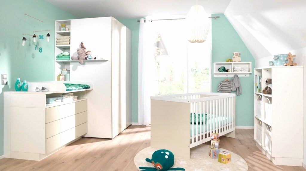Wandgestaltung Babyzimmer Junge Elegant Deko Für