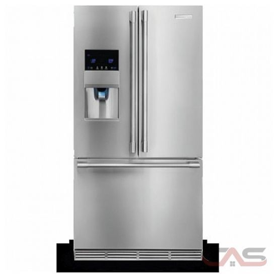Electrolux E23bc78ips Counter Depth French Door Refrigerator French Door Refrigerator French Doors