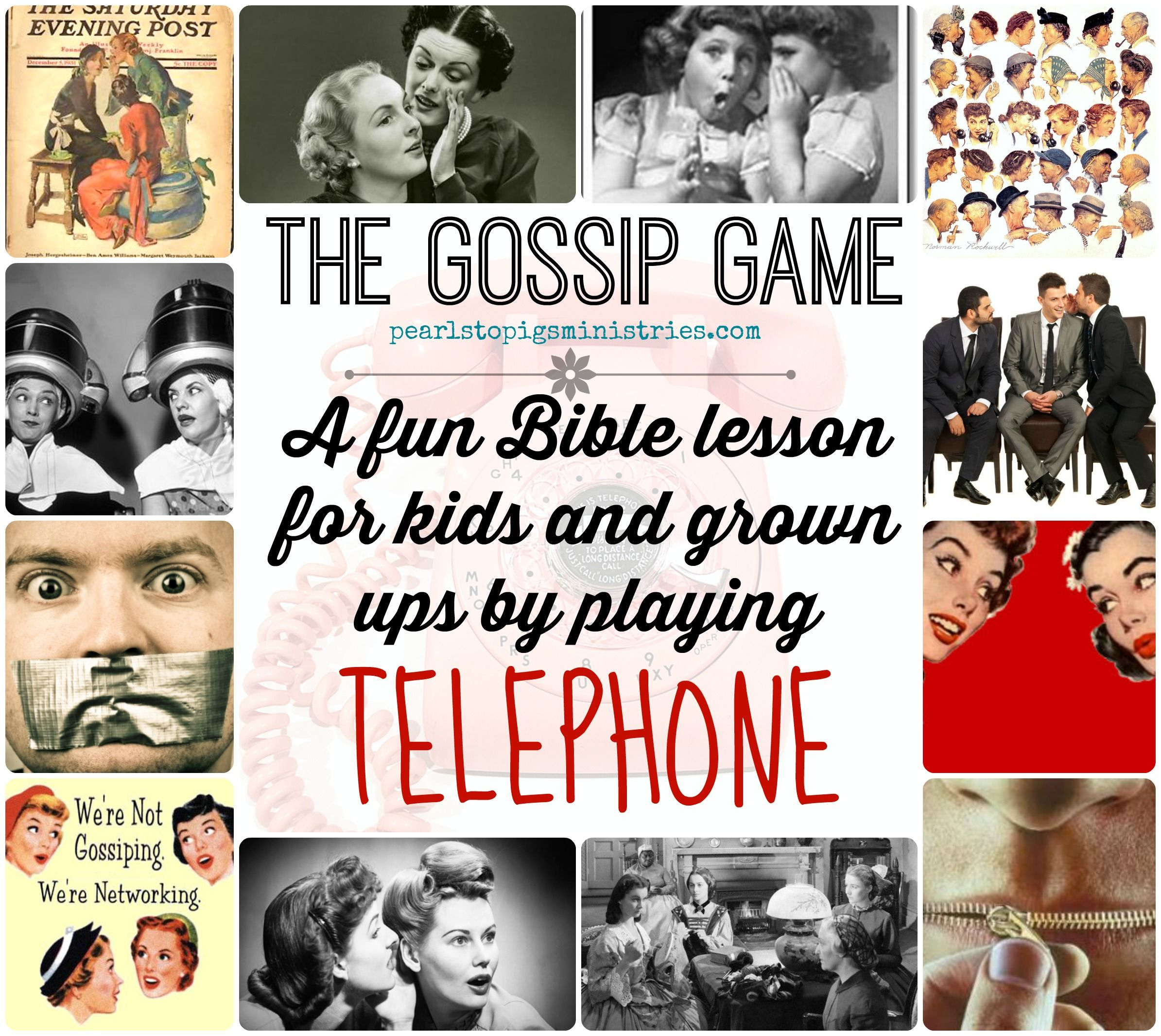 The Gossip Game A Fun Bible Lesson For Kids And Grown Up