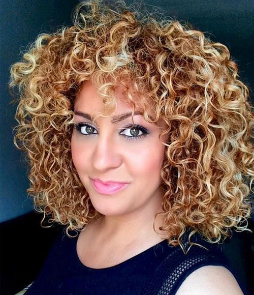 Golden curly hair color hairstyles pinterest caramel hair kuvahaun tulos haulle short copper hair with blonde highlights pmusecretfo Image collections
